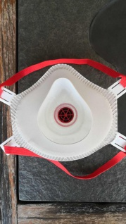 3x Hochwertige Atem Schutzmaske FFP3 Schutz Maske Zubehör Neu