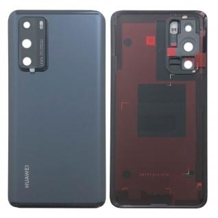 Huawei Akkudeckel Akku Deckel Batterie Cover Schwarz für P40 02353MBJ Ersatz Neu