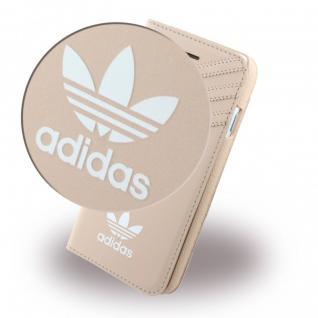 Adidas Basics Tasche Book Cover Apple iPhone 7 Hülle Handytasche Etui Vapour Neu - Vorschau 3