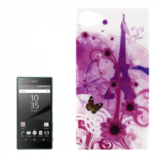 Hardcase Muster 31 Hülle für Sony Xperia Z5 Compact (Mini) 4.6 Case Cover Tasche