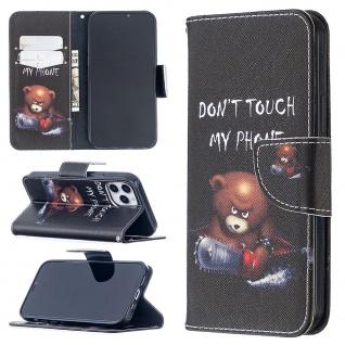FürApple iPhone 12 Pro 12 6.1 Zoll Kunstleder Handy Tasche Motiv 30 Hülle Etuis