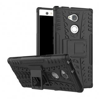 Hybrid Case 2teilig Outdoor Schwarz Tasche Hülle für Sony Xperia XA2 Ultra Cover