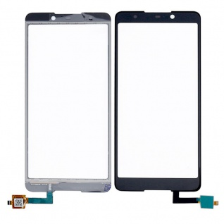 Reparatur Displayglas Touch Screen für Wiko Lenny 5 LCD Schwarz Ersatz Display