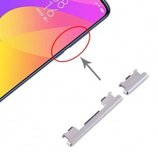 Für Xiaomi Mi 9 Lite Sidekeys Seitentasten Silber Ersatzteil Zubehör Reparatur - Vorschau 1
