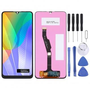 Für Huawei Y6P Reparatur Full Display LCD Einheit Touch Screen Schwarz Ersatz