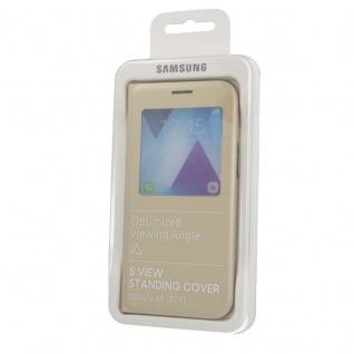Samsung S View Wallet Tasche Kunstleder EF-CA520 für Galaxy A5 A520F 2017 Gold - Vorschau 3