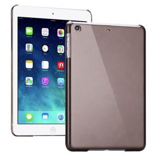 Hardcase Glossy Grau für Apple iPad Air Case Cover Hülle Schale Etui + Folie