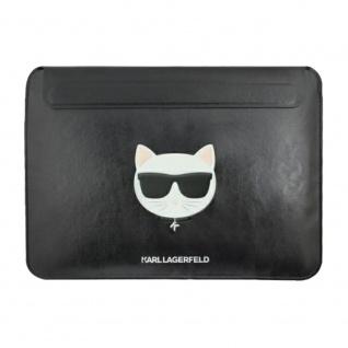 Karl Lagerfeld Tasche für Notebook Laptop & Tablet 13 Zoll Schwarz Etuis Hülle