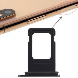 Für Apple iPhone XR 6.1 Sim Karten Halter Schwarz SD Card Ersatzteil Zubehör - Vorschau 4