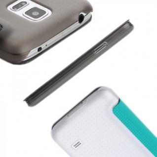 Original ROCK Smartcover Blau für Samsung Galaxy S5 Mini G800 F A H Case Hülle - Vorschau 3