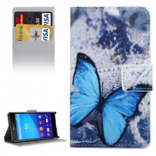 Schutzhülle Motiv 34 für Sony Xperia Z5 Compact 4.6 Zoll Bookcover Tasche Case