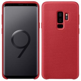 Samsung HyperKnit Cover EF-GG965FREGWW für Galaxy S9 Plus G965F Tasche Hülle Rot