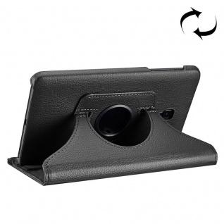 Schutzhülle 360 Grad Schwarz Tasche für Samsung Galaxy Tab A 8.0 2017 T380 T385