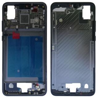 Gehäuse Rahmen Mittelrahmen Deckel für Huawei P20 Silber Reparatur Ersatz Teil