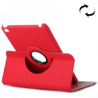 Deluxe Schutzhülle 360 Grad Rot Tasche für Apple iPad Mini 4 7.9 Zoll Hülle Neu