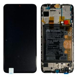 Huawei Display LCD Rahmen für P Smart 2019 Service 02352JFA Aurora Blue / Blau