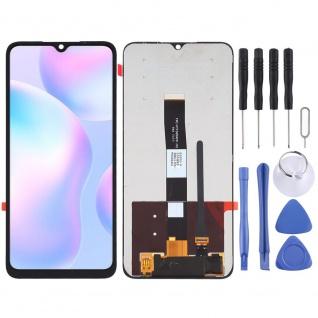 Für Xiaomi Redmi 9A / 9C Display Full LCD Touch Screen Reparatur Schwarz Ersatz