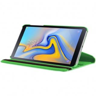Für Samsung Galaxy Tab S4 10.5 T830 T835F Grün 360 Grad Kunstleder Tasche Hülle