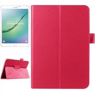 Schutzhülle Pink Tasche für Samsung Galaxy Tab S2 8.0 SM T710 T715N Hülle Case