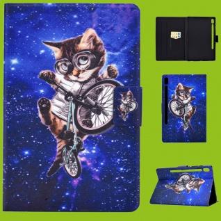 Für Samsung Galaxy Tab A 10.1 2019 T510 Motiv 52 Tasche Kunst Leder Hülle Etuis