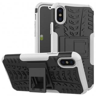 New Hybrid Case 2teilig Outdoor Weiß für Apple iPhone XR 6.1 Zoll Tasche Hülle