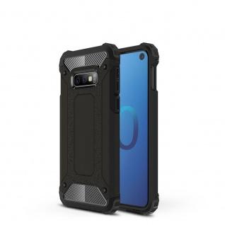 Für Samsung Galaxy S10 Lite Magic Armor Case Outdoor Schwarz Tasche Hülle Schutz