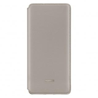 Wallet Cover Khaki für Huawei P30 Pro Original Case Tasche Etui Schale 51992870