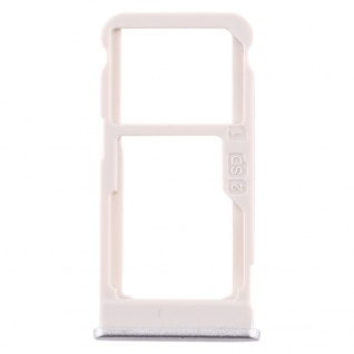 Für Nokia 5.1 Plus Simkarten Halter Card Tray Silber SD Card Ersatzteil Zubehör
