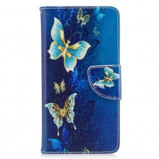 Tasche Wallet Motiv 23 für Huawei Y6 2019 Hülle Case Etui Cover Schutz Cover Neu - Vorschau 2