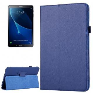 Schutzhülle Dunkelblau Tasche für Samsung Galaxy Tab A 10.1 T580 / T585 Hülle