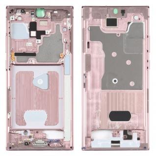 Mittelrahmen Bezel Samsung Galaxy Note 20 Ultra Pink Middle Rahmen