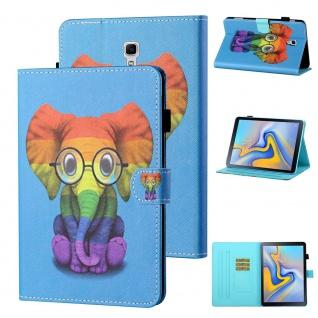 Für Samsung Galaxy Tab A 10.5 T590 2018 Motiv 82 Tablet Tasche Kunst Leder Etuis