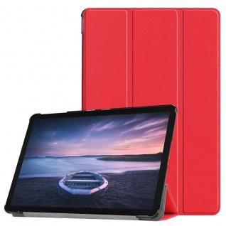 Smart Cover Rot Tasche für Samsung Galaxy Tab S4 10.5 T830 T835 Hülle Wake Up