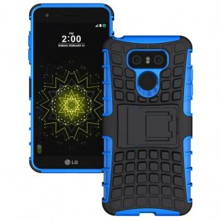 Hybrid Case 2teilig Outdoor Blau für LG G6 H870 Tasche Hülle Cover Neu Schutz