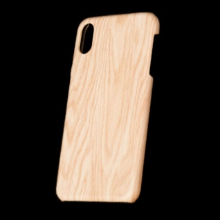 Für Apple iPhone XS MAX 6.5 Zoll Holz Wald Muster 4 Tasche Hülle Hard Cover Neu