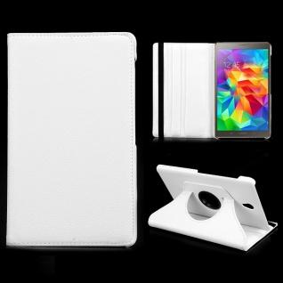 Schutzhülle 360 Grad Weiss Tasche für Samsung Galaxy Tab S T700 Hülle Zubehör