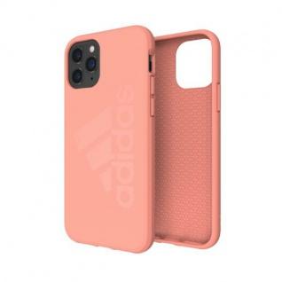 Adidas Silicone Case iPhone 11 Pro Max Pink Tasche Schutz Handy Hülle Case