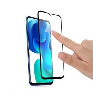 Für Xiaomi Mi Note 10 Lite 2x 4D Display Full H9 Hart Glas Schwarz Folie Panzer