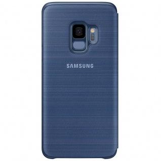 Samsung LED View Cover Schutz Tasche EF-NG960PLEGW für Galaxy S9 Hülle Blau Etui - Vorschau 4