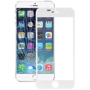 Displayglas Glas Weiß für Apple iPhone 6 Plus 5.5 Zubehör + Werkzeug Opening KIT