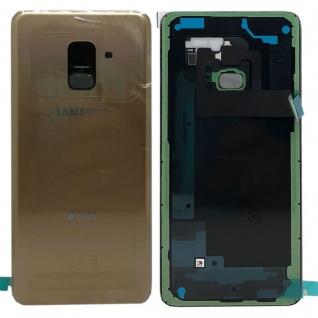 Samsung GH82-15557C Akkudeckel Deckel für Galaxy A8 A530F 2018 Klebepad Gold Neu - Vorschau