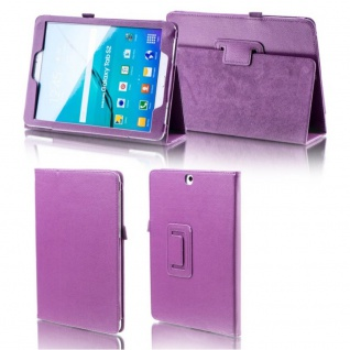Schutzhülle Lila Tasche für Apple iPad Pro 9.7 Zoll Hülle Case Cover Etui Cover