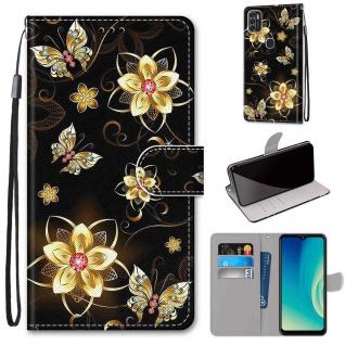 Für ZTE Blade A7s 2020 Kunst-Leder Handy Tasche Motiv 7 Hülle Etuis Cover Schutz
