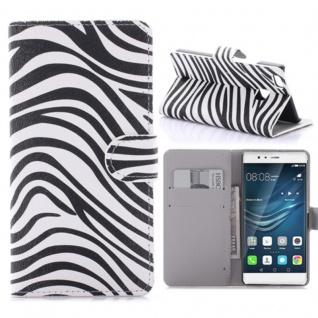 Schutzhülle Muster 7 für Huawei P9 Lite Bookcover Tasche Case Hülle Wallet Etui