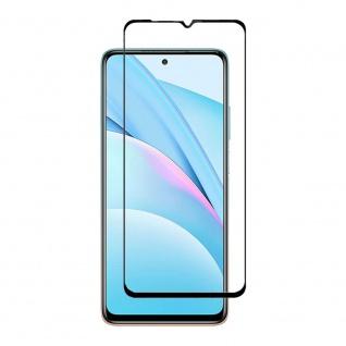 Für Xiaomi Mi 10T Lite 2x 3D Display Full LCD H9 Hart Glas Schwarz Folie Panzer