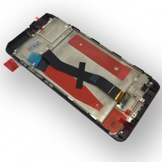 Für Huawei P10 Full Display LCD Einheit mit Rahmen Komplett Schwarz Reparatur - Vorschau 3