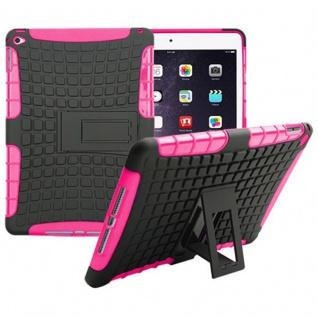 Hybrid Outdoor Schutzhülle Cover Pink für Apple iPad Air 2 Tasche Case Hülle Neu
