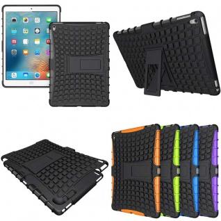 Hybrid Outdoor Schutzhülle Cover Schwarz für iPad Pro 9.7 Zoll Tasche Case Hülle