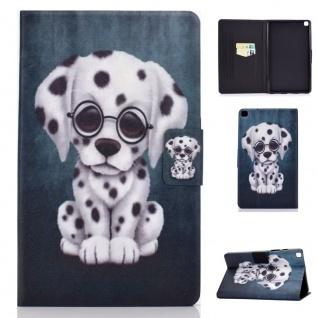 Für Samsung Galaxy Tab A7 2020 Motiv 63 Tablet Tasche Kunst Leder Hülle Etuis