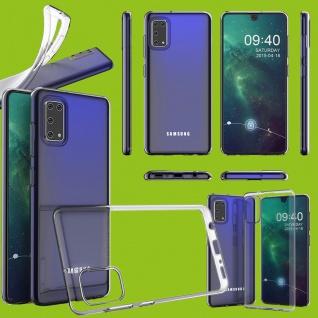 Für Samsung Galaxy A41 A415F Silikon TPU Transparent Handy Tasche Hülle Etuis